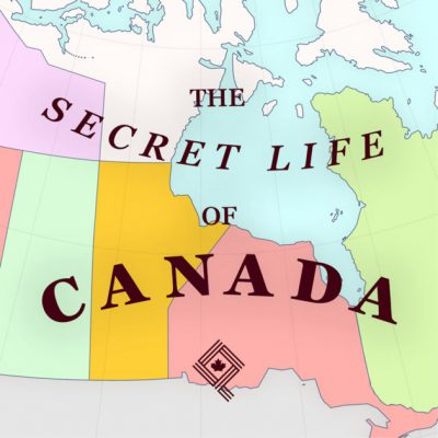 logo for The Secret Life of Canada podcast